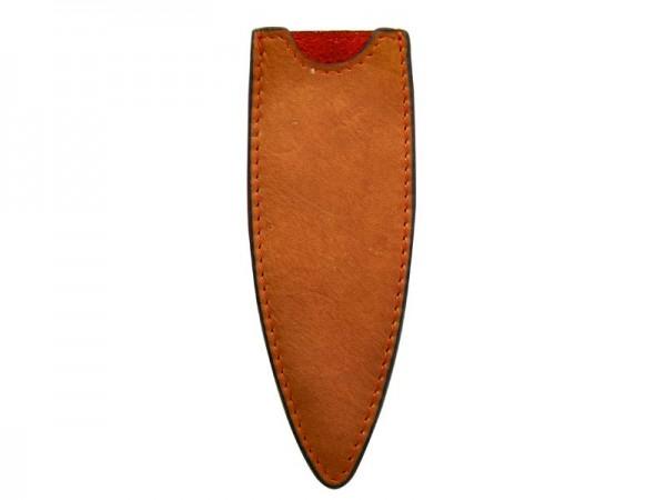 Lederetui hellbraun für 27 cm