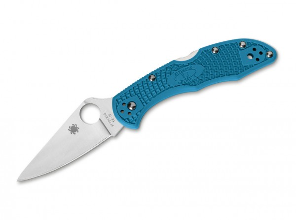 Spyderco Delica 4 Lightweight Flat Ground Blue