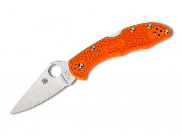 Spyderco Delica 4 Lightweight Flat Ground Orange