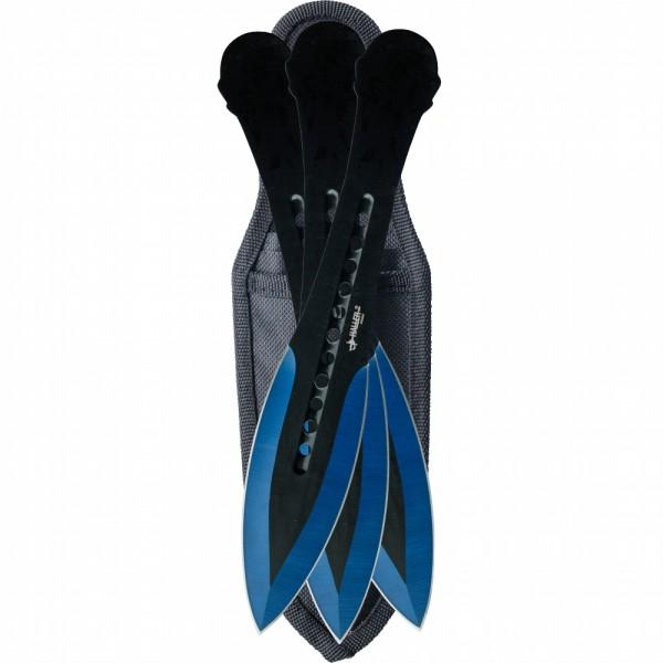 Haller Wurfmesserset blue tip 3 tlg.