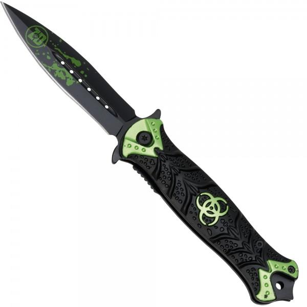 Zombie Dead Stiletto Taschenmesser